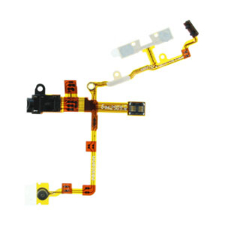Audio Jack Flex Cable - модул за звука за iPhone 3GS (черен)