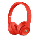 Beats Solo 3 Wireless On-Ear Headphones - професионални безжични слушалки с микрофон и управление на звука за iPhone, iPod и iPad (червен)