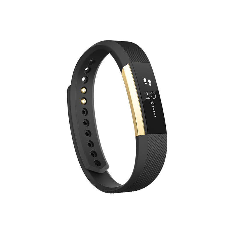 Fitbit Alta Special Edition Large Size - smart fitness wristband (black-gold)