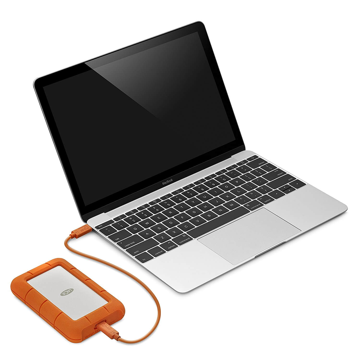 ... Lacie Rugged USB C 1TB (silver Orange) 3 ...