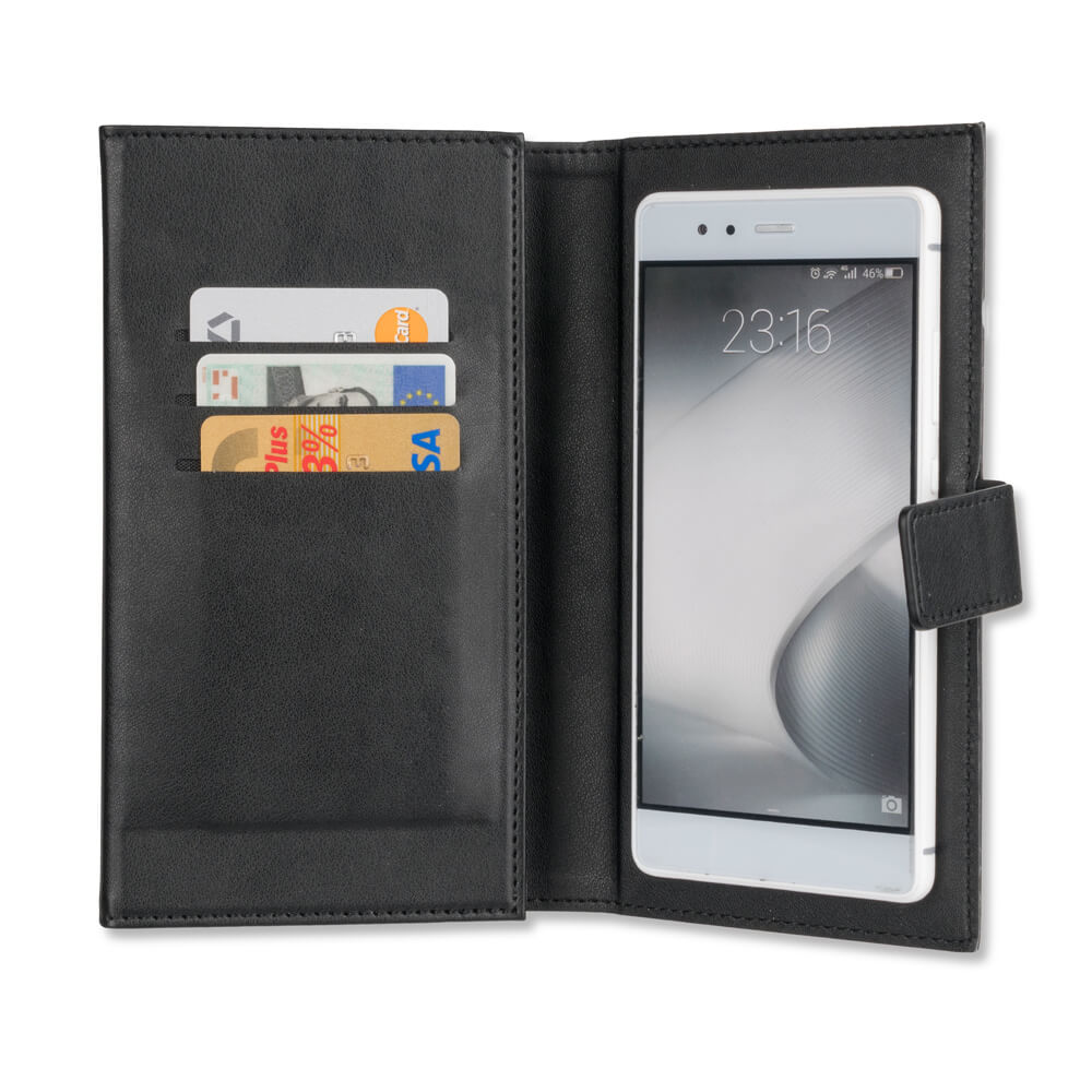 4smarts Universal Flip Case UltiMAG WALLSTREET Card Book up to 5.8 in. black)
