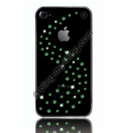 Swarovski Milky Way Fern Green - кейс с кристали на Сваровски за iPhone 4/4S