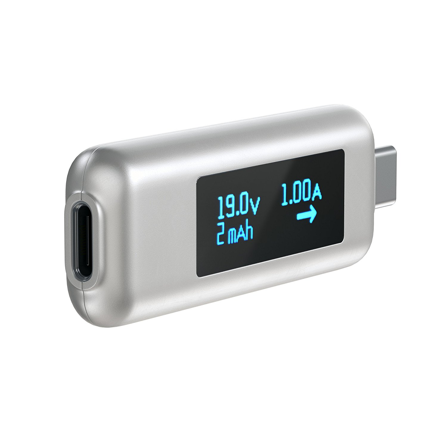 Satechi USB-C Power Meter - уред измерване на ампеража, волтаж и амперчасове за USB-C устройства