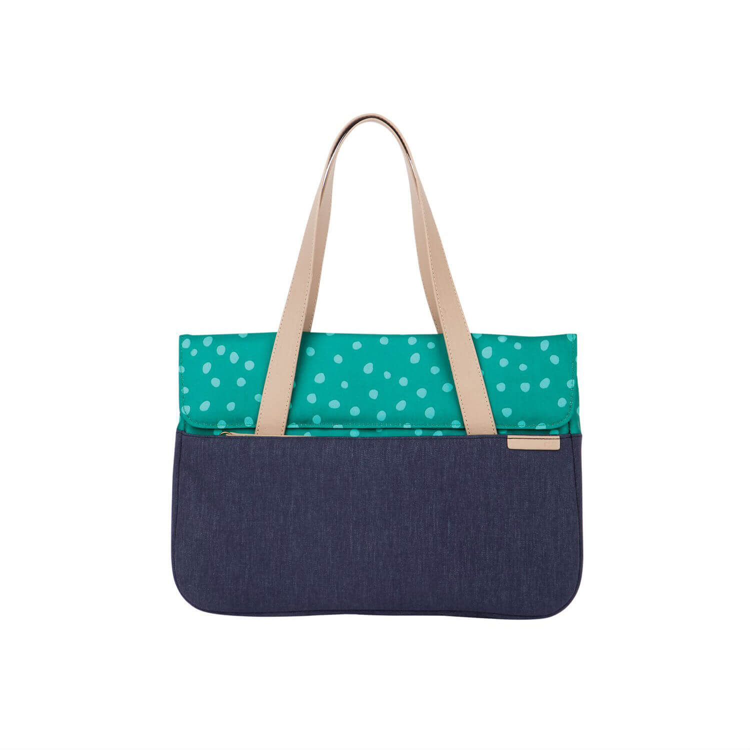 STM Grace Deluxe Laptop Sleeve - teal dot