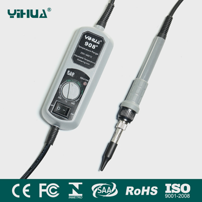 YIHUA 908+ Portable Thermostat Adjust Electronic Soldering Iron
