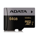 Adata Premier Pro microSDXC/SDHC 64GB UHS-I U3 Class 10 (GoPro and 4K videocompatible)