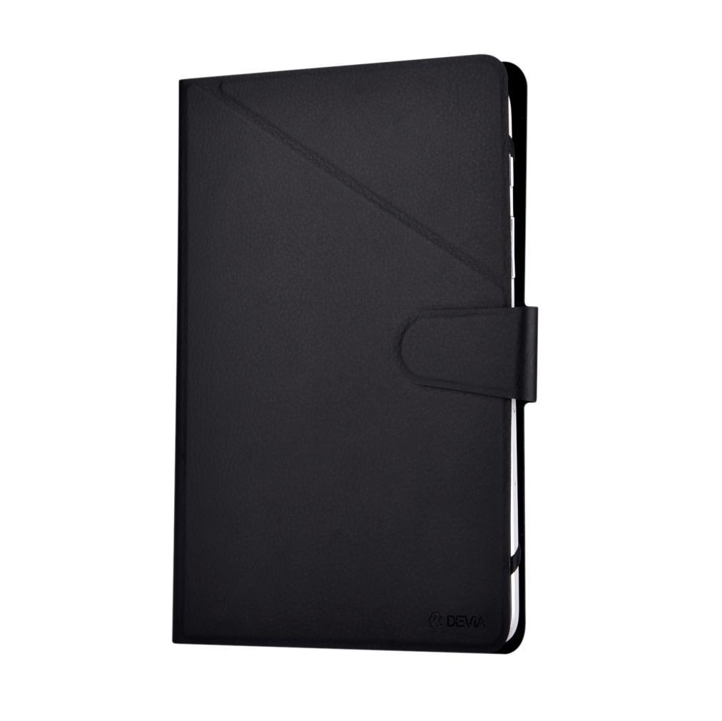 Devia Flexy Universal Case - универсален калъф тип папка и поставка за таблети до 10 инча (черен)
