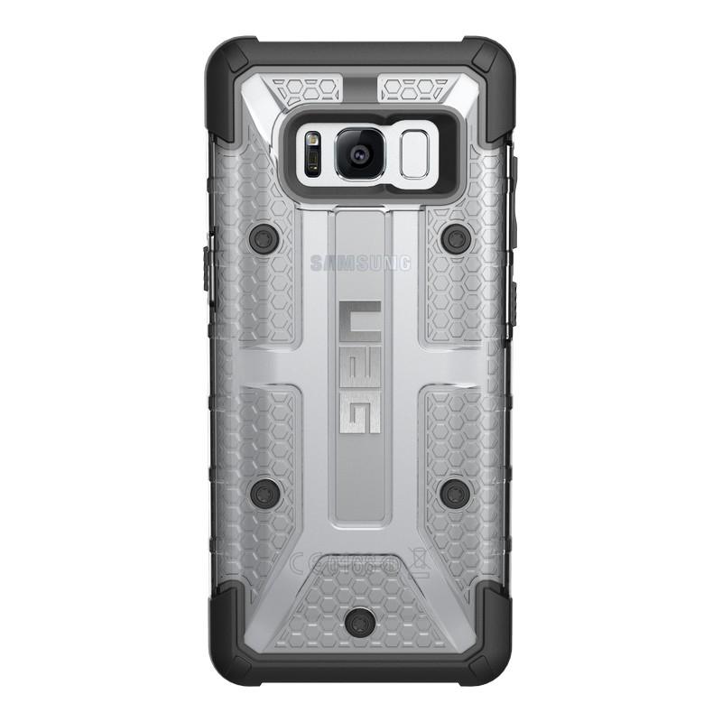 Urban Armor Gear Plasma - удароустойчив хибриден кейс за Samsung Galaxy S8 (прозрачен)