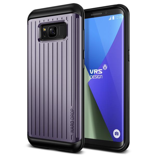 Verus Thor Wave Case - хибриден удароустойчив кейс за Samsung Galaxy S8 Plus (черен-лилав)