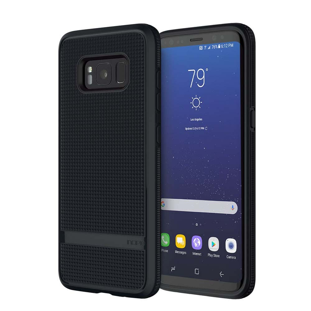 Incipio NGP Advanced Case - удароустойчив силиконов (TPU) калъф за Samsung Galaxy S8 (черен)