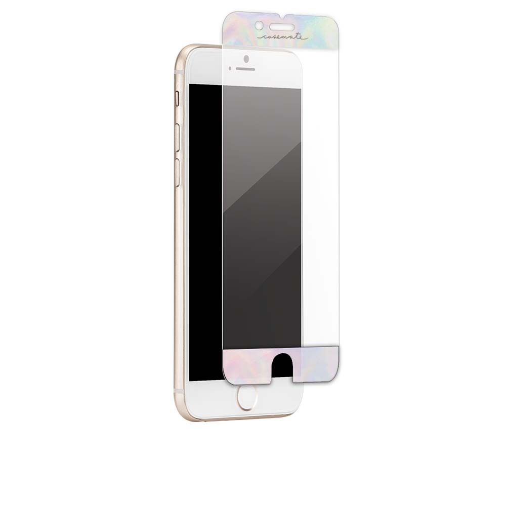 CaseMate Glided Glass for iPhone 8, iPhone 7, iPhone 6S, iPhone 6 (iridescent)
