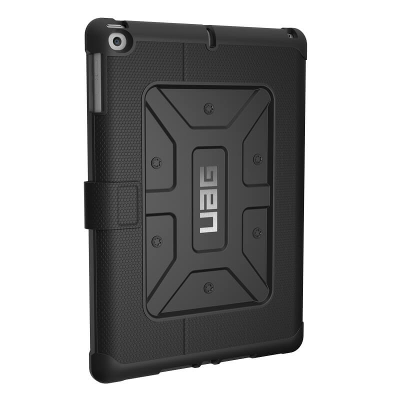Urban Armor Gear Metropolis Folio Case for iPad 5 (2017), iPad 6 (2018) (black)