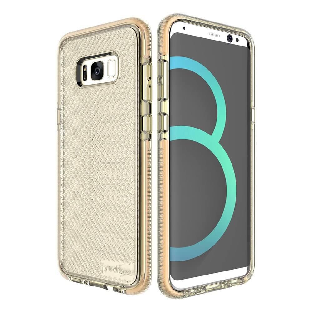 Prodigee Safetee Case - хибриден кейс с висока степен на защита за Samsung Galaxy S8 (златист)