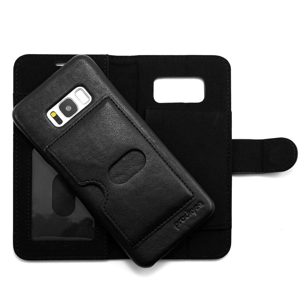 Prodigee Wallegee Case with stand for Samsung Galaxy S8 (black)