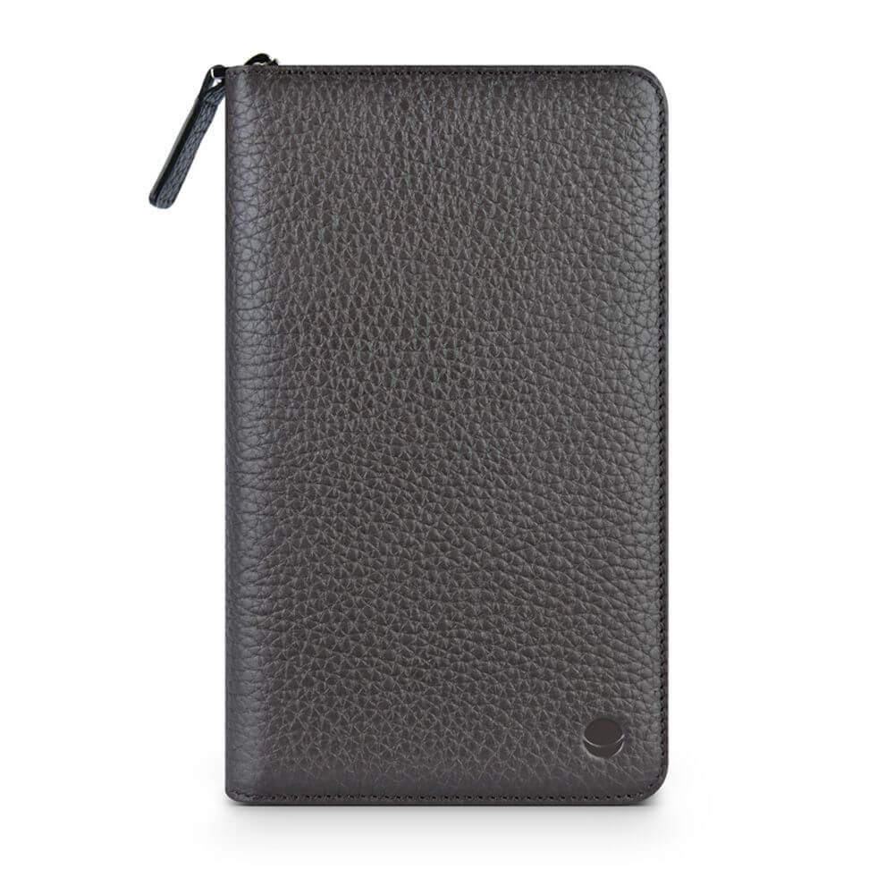 Beyzacases Wallet Leather Universal Case for smartphones up to 6 inches (brown)