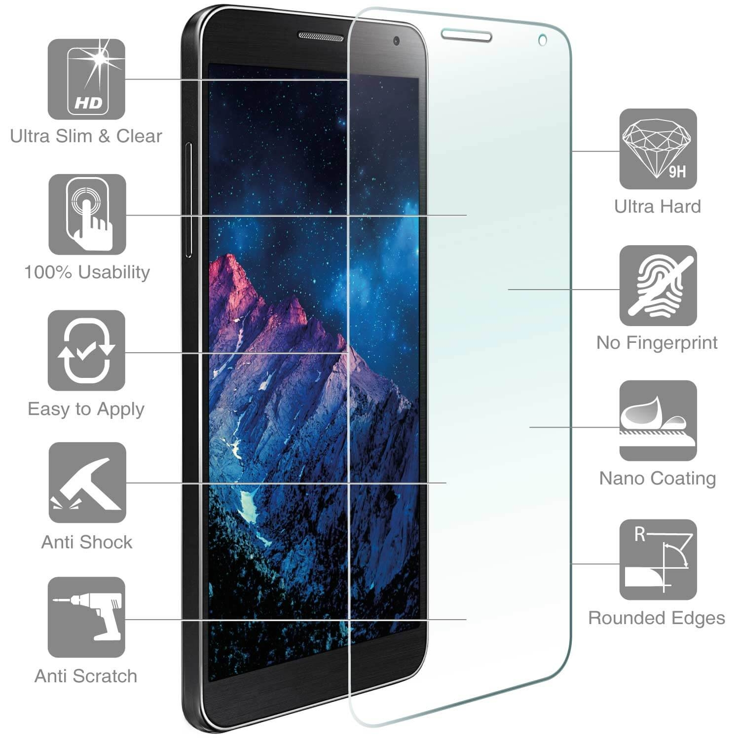 4smarts Second Glass for Lenovo/Motorola Moto C Plus
