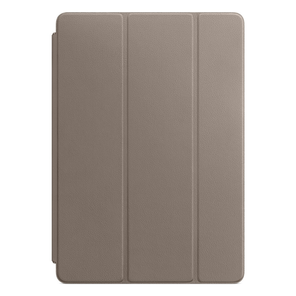 Apple Leather Smart Cover - оригинално кожено покритие за iPad 7 (2019), iPad Air 3 (2019), iPad Pro 10.5 (2017) (тъмнокафяв)