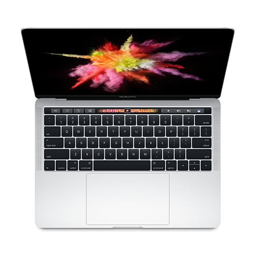 Apple MacBook Pro 13 Touch Bar, Touch ID, Dual-Core i5 3.1GHz, 8GB, 512GB SSD, Intel Iris Plus Graphics 650 (сребрист) (модел 2017)