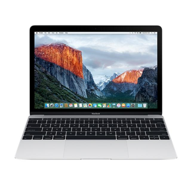 Apple MacBook 12, Dual-Core M3 1.2GHz, 8GB, 256GB SSD, Intel HD Graphics 615 (сребрист) (модел 2017)