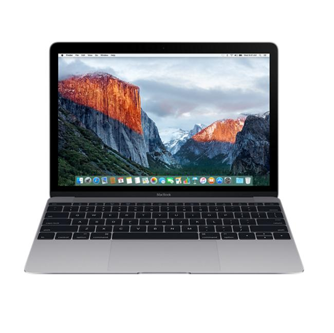 Apple MacBook 12, Dual-Core M3 1.2GHz, 8GB, 256GB SSD, Intel HD Graphics 615 (тъмносив) (модел 2017)