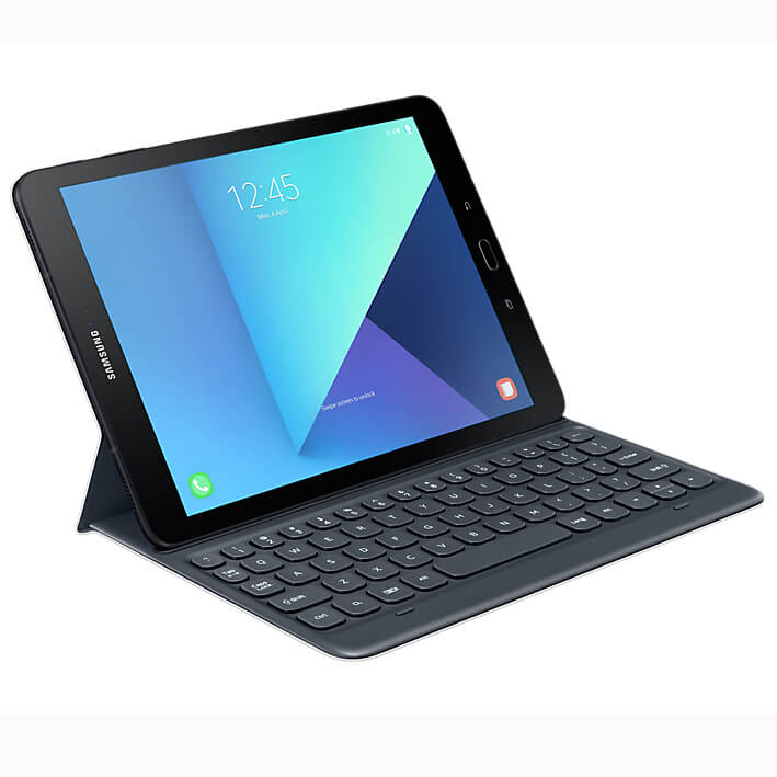 Samsung Book Cover Keyboard QWERTY EJ-FT820US for Galaxy Tab S3 grey