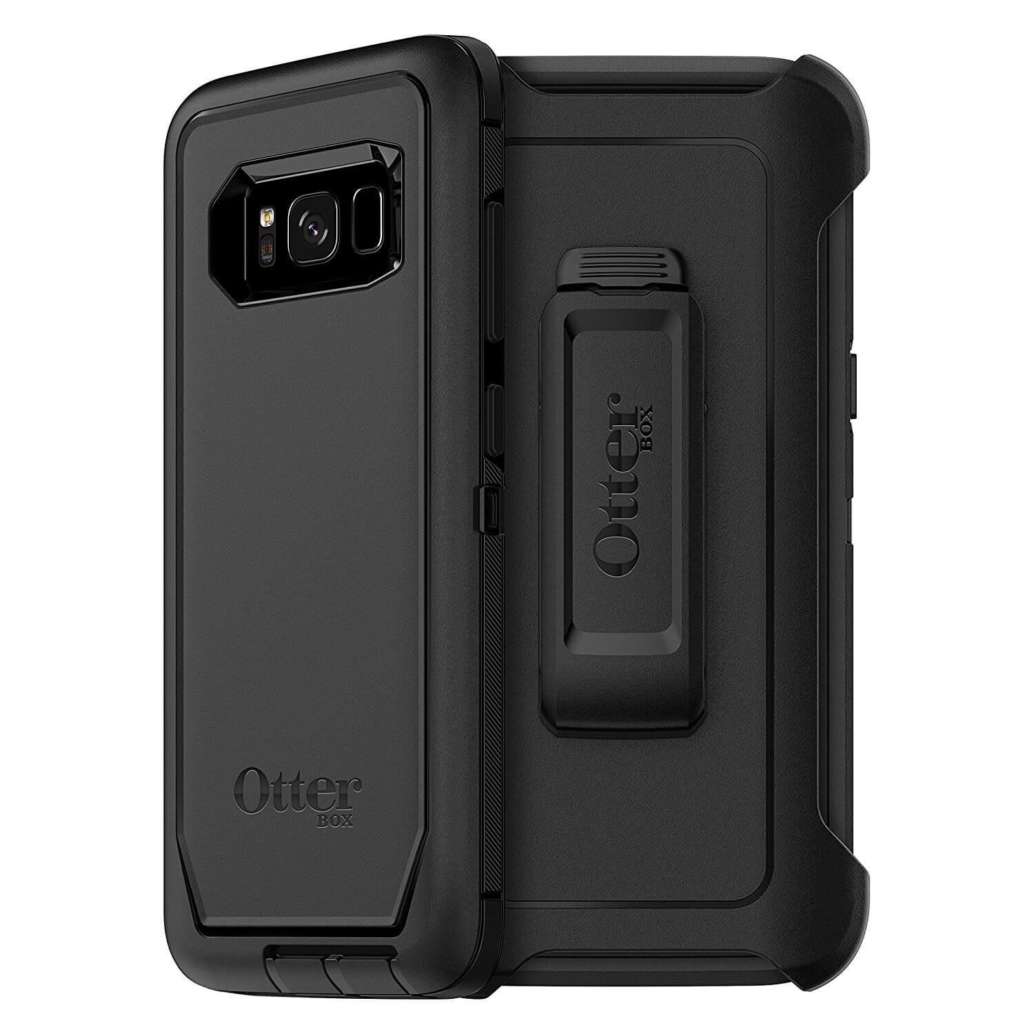 new york f59f7 a18d4 Otterbox Defender Case - изключителна защита за Samsung Galaxy S8 Plus  (черен)