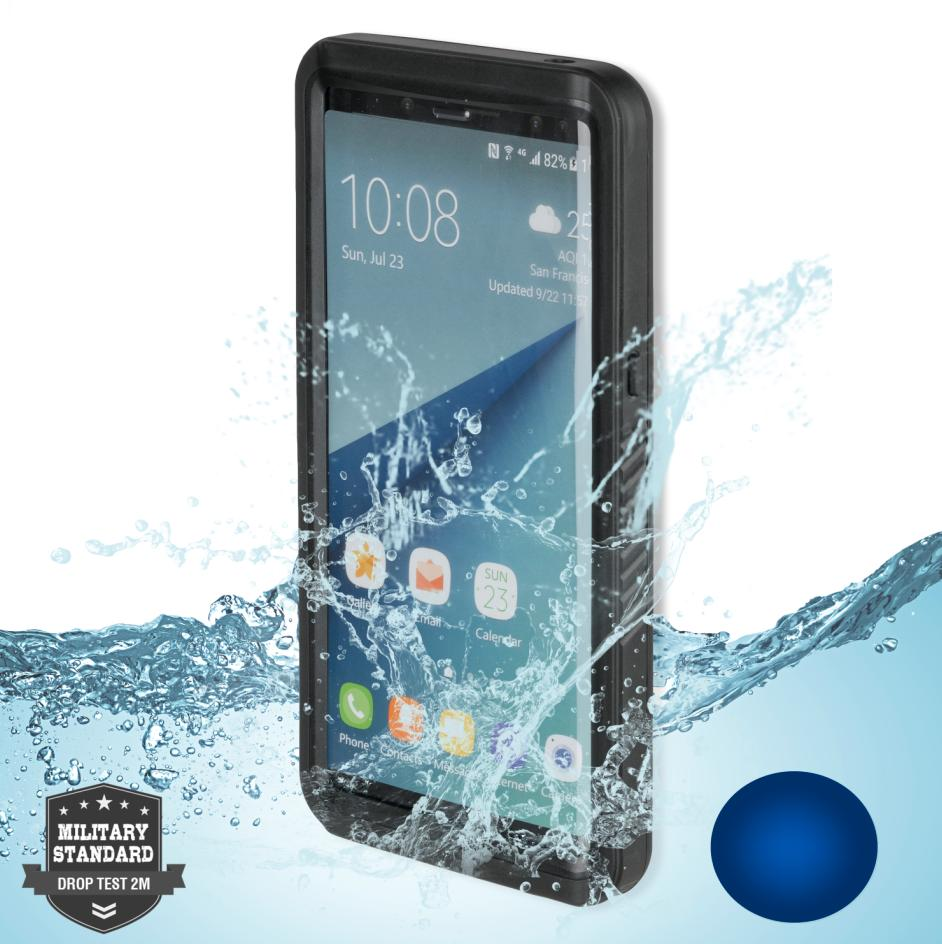 new arrival 1d3fd af6dd 4smarts Waterproof Case Active Pro NAUTILUS - ударо и водоустойчив калъф за  Samsung Galaxy Note 8 (черен)