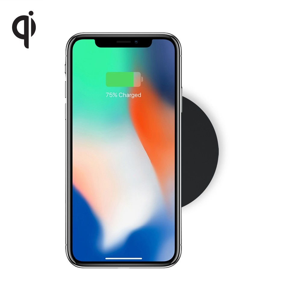 Zens Single Wireless Charger Round - док станция за безжично зареждане на Qi съвместими устройства