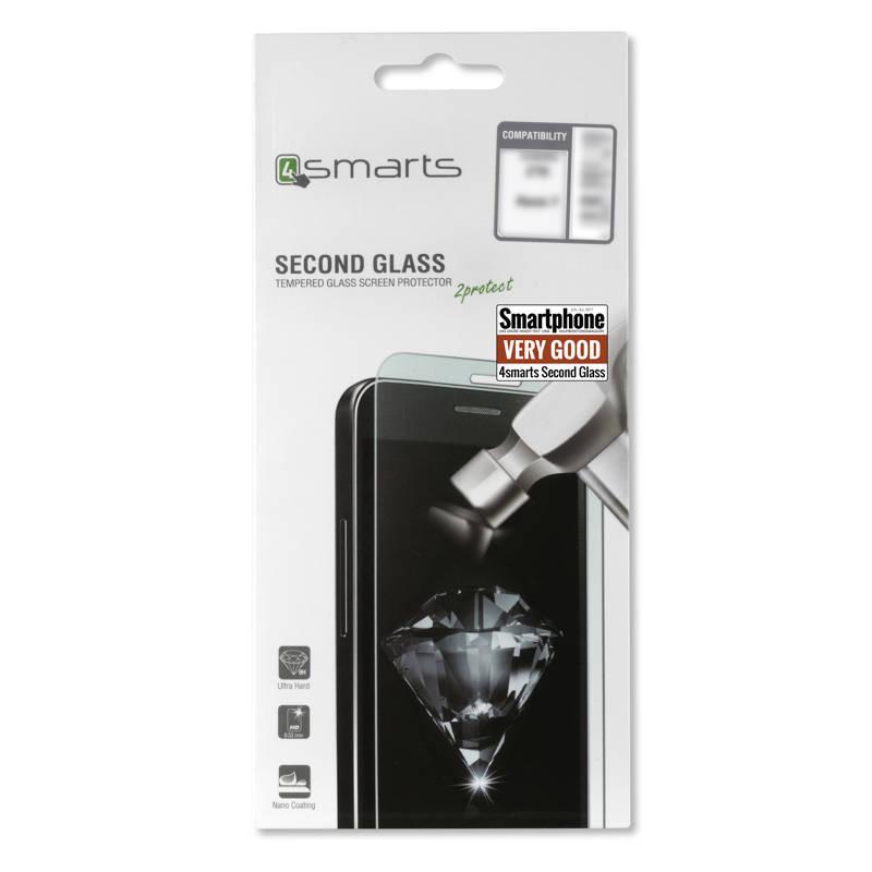 4smarts Second Glass - калено стъклено защитно покритие за дисплея на Essential PH-1 (прозрачен)