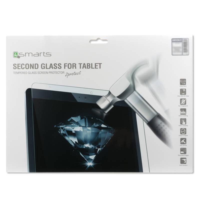 4smarts Second Glass - калено стъклено защитно покритие за дисплея на Microsoft Surface Pro (2017) (прозрачен)