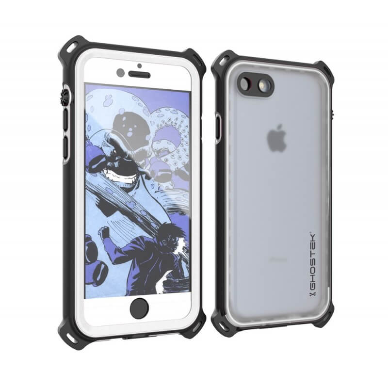 Ghostek Nautical IP68 Waterproof Case - ударо и водоустойчив кейс за iPhone 7, iPhone 8 (черен)