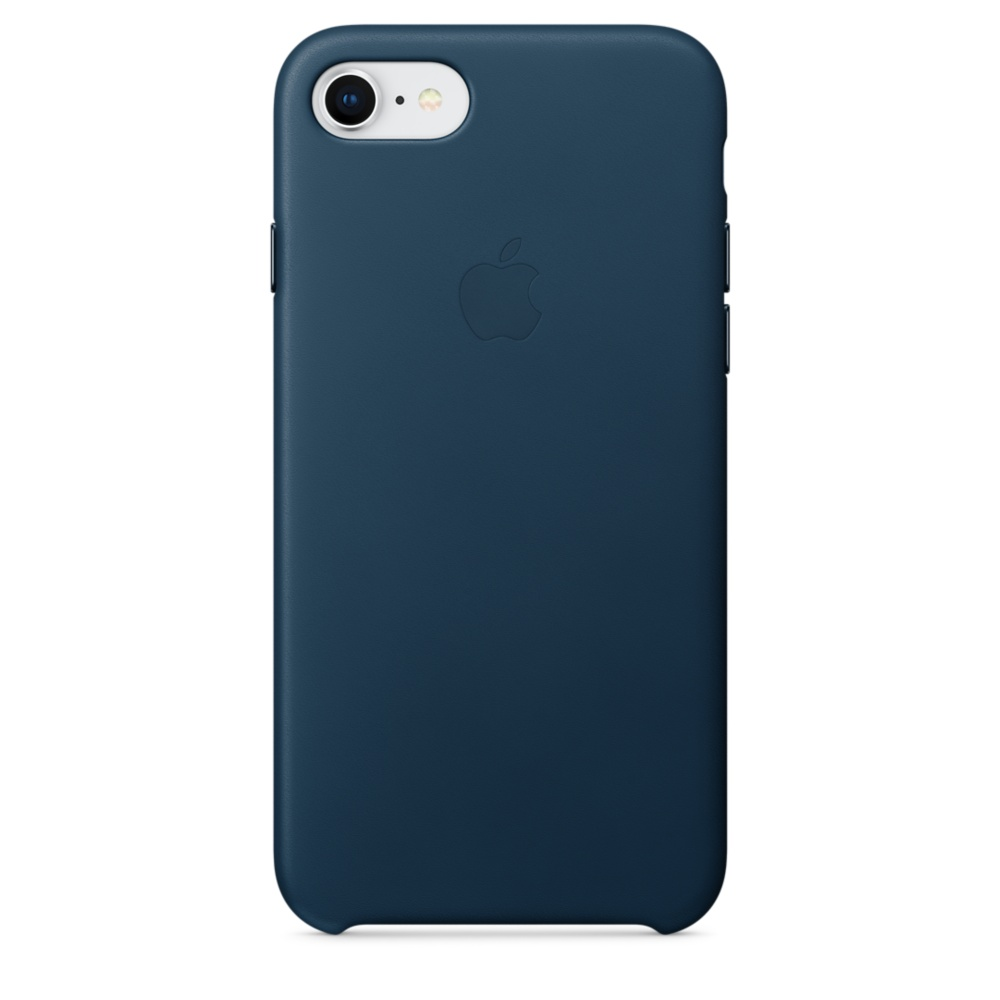 Apple iPhone Leather Case for iPhone 8, iPhone 7 (cosmos blue)