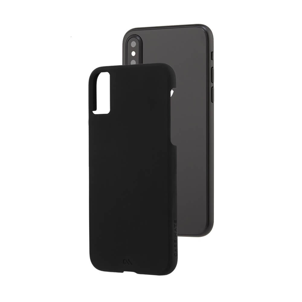 the latest 89b71 9860e CaseMate Barely There - поликарбонатов кейс за iPhone XS, iPhone X (черен)