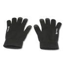 4smarts Winter Gloves Touch Unisex Size S/M (black)