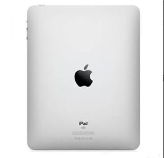Apple iPad Wi-Fi Backcover - оригинален резервен заден капак за iPad Wi-Fi (първо поколение)