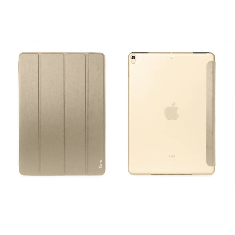 Torrii Torrio Case and stand for iPad Air 3 (2019), iPad Pro 10.5 (gold)