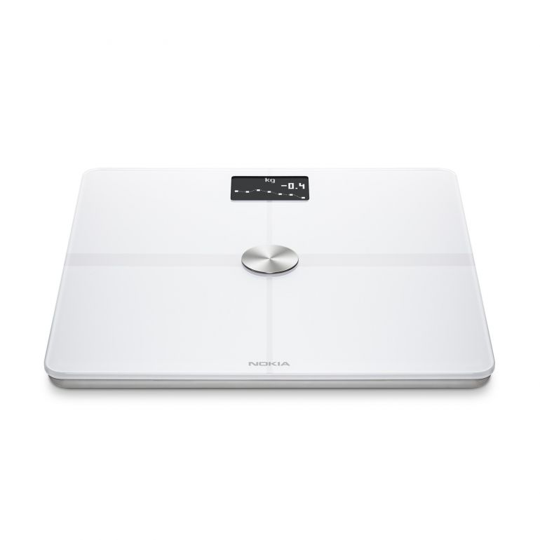 Nokia Body Plus Full Body Composition WiFi Scale - white