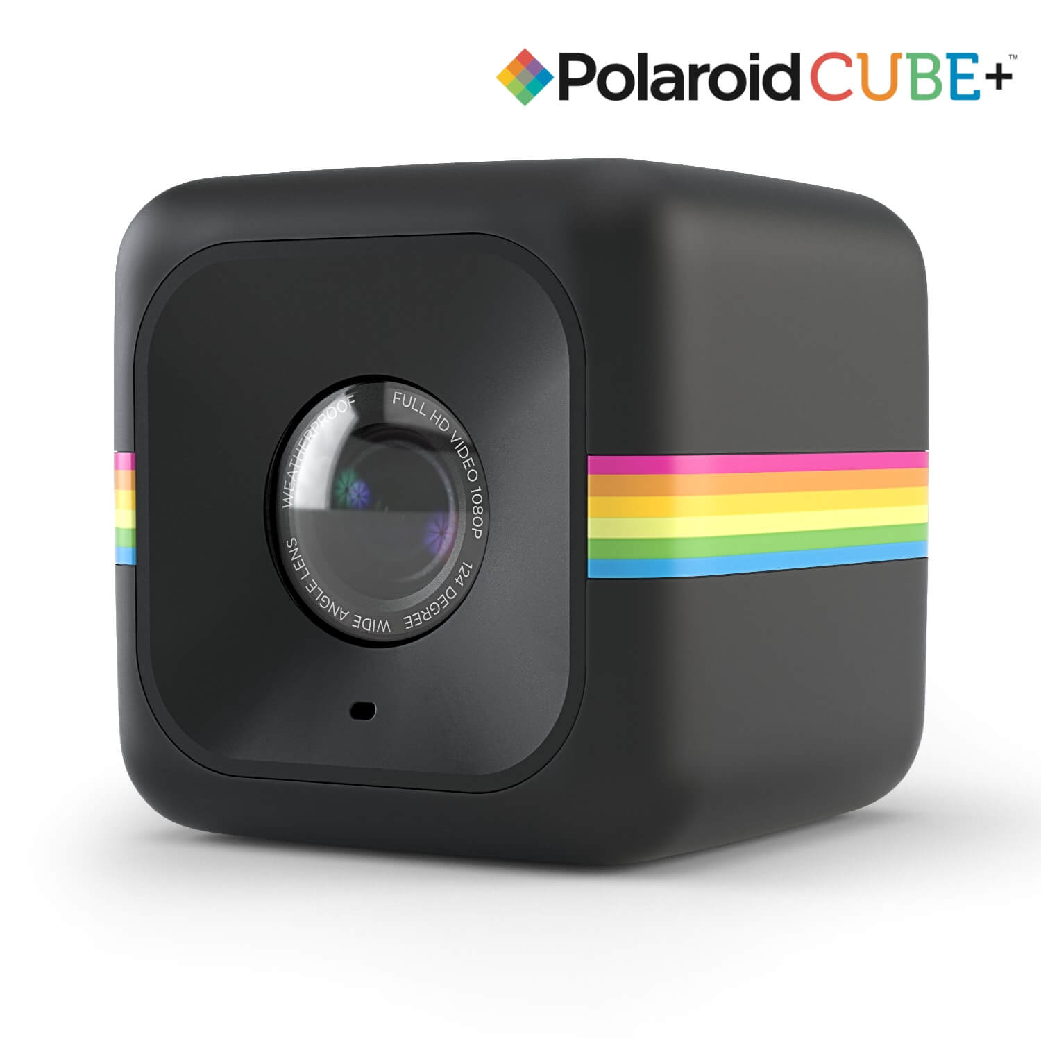 Polaroid Cube Plus Lifestyle Action Camera - HD екшън камера с Wi-Fi (черен)