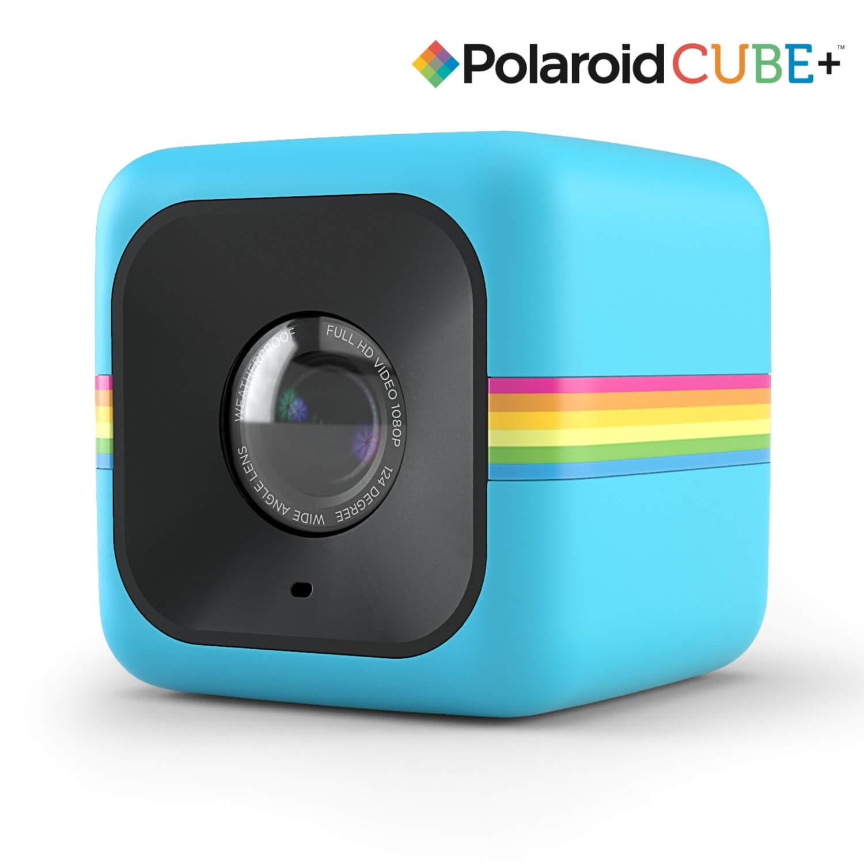 Polaroid Cube Plus Lifestyle Action Camera - HD екшън камера с Wi-Fi (син)