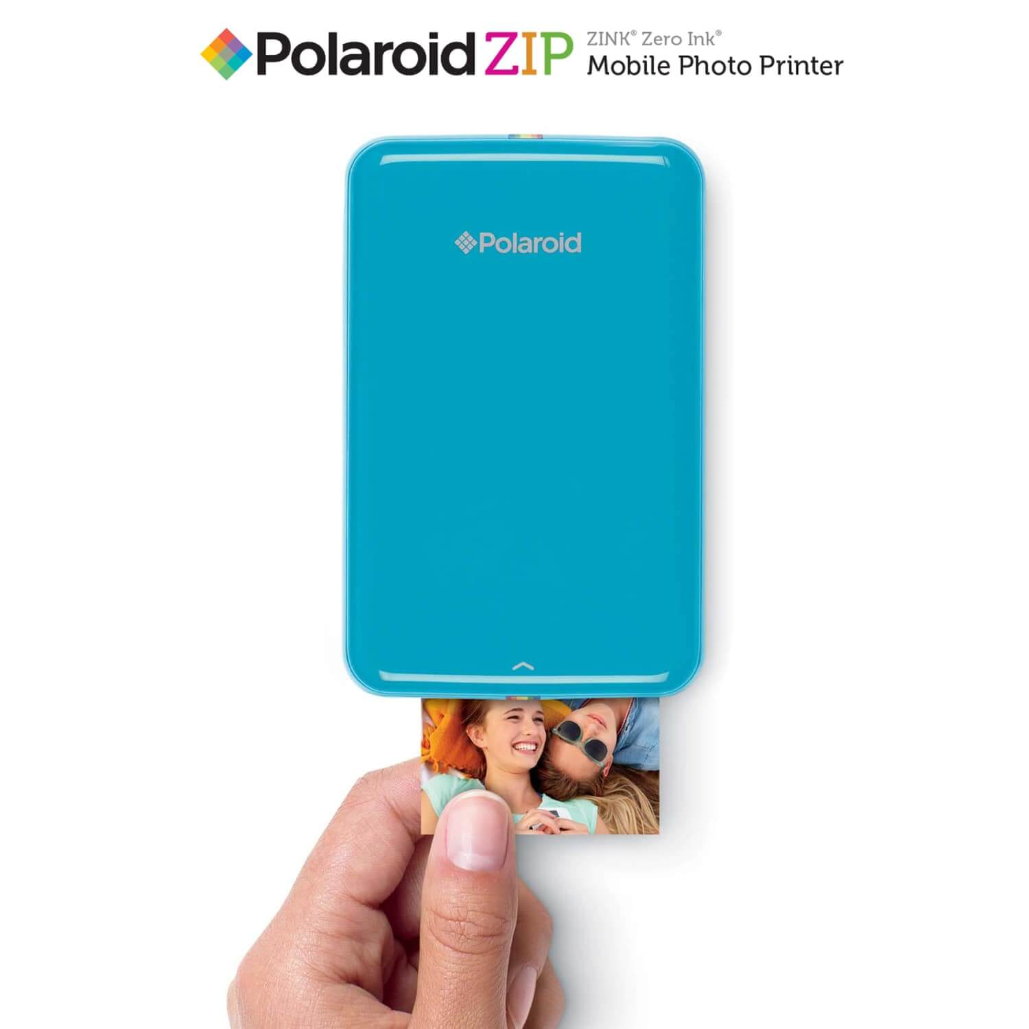 Polaroid ZIP Instant Photoprinter - Blue