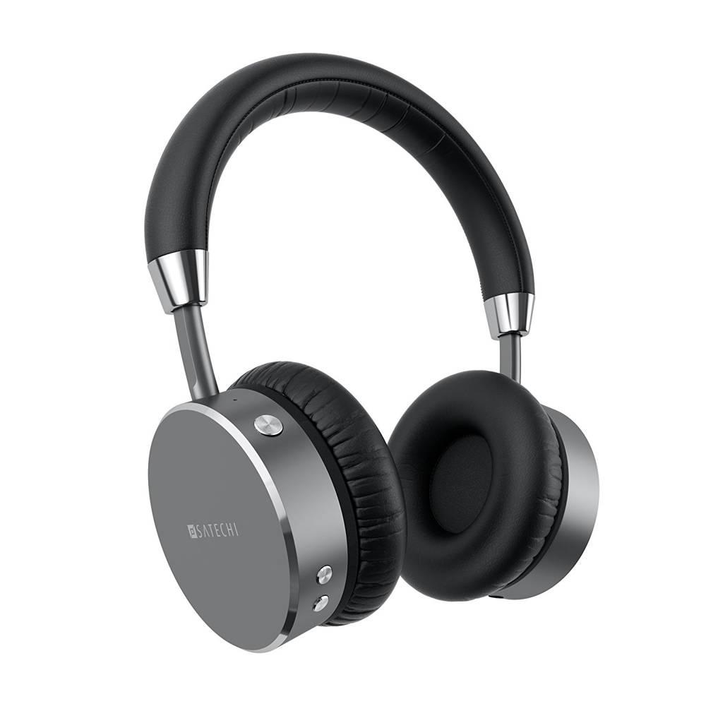 Satechi Wireless On-Ear Headphones (space gray)