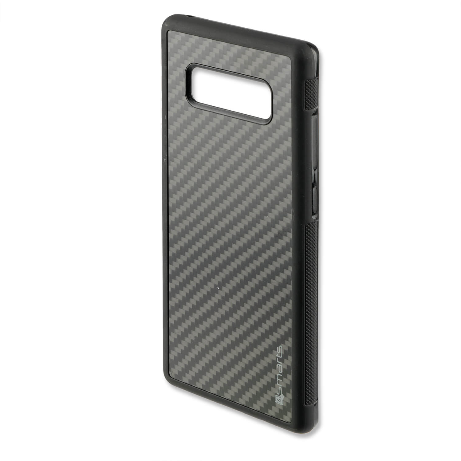 4smarts Clip-On Cover Trendline Carbon - удароустойчив карбонов кейс за Samsung Galaxy Note 8 (карбон)