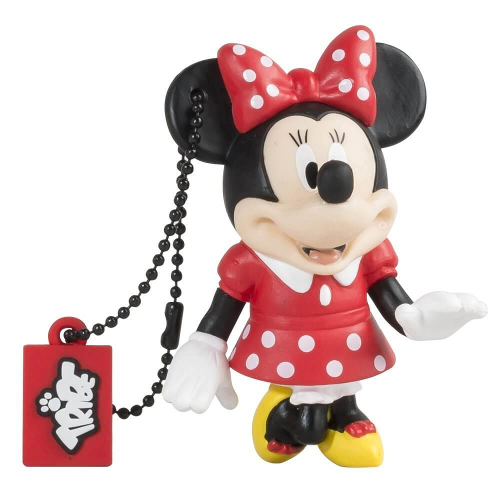 USB Tribe Disney Minnie Mouse USB Flash Drive 16GB