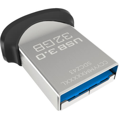 SanDisk Ultra Fit USB 3.0 Flash Drive - флаш памет 32GB