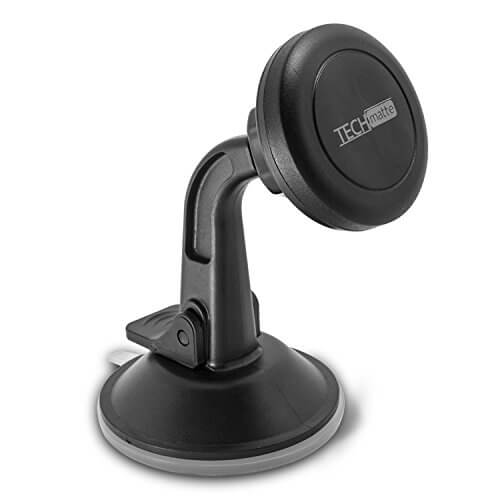 TechMatte MagGrip Windshield and Dashboard Magnetic Universal Car Mount Holder