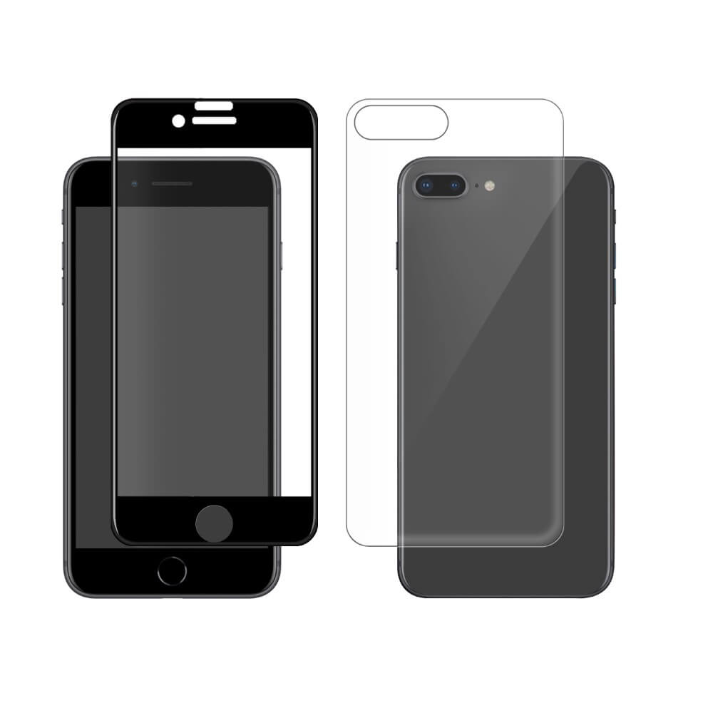 100% authentic 705f2 0ecad Eiger 3D 360 Screen Protector Back and Front Glass - калени стъклени  защитни покрития за дисплея и ...