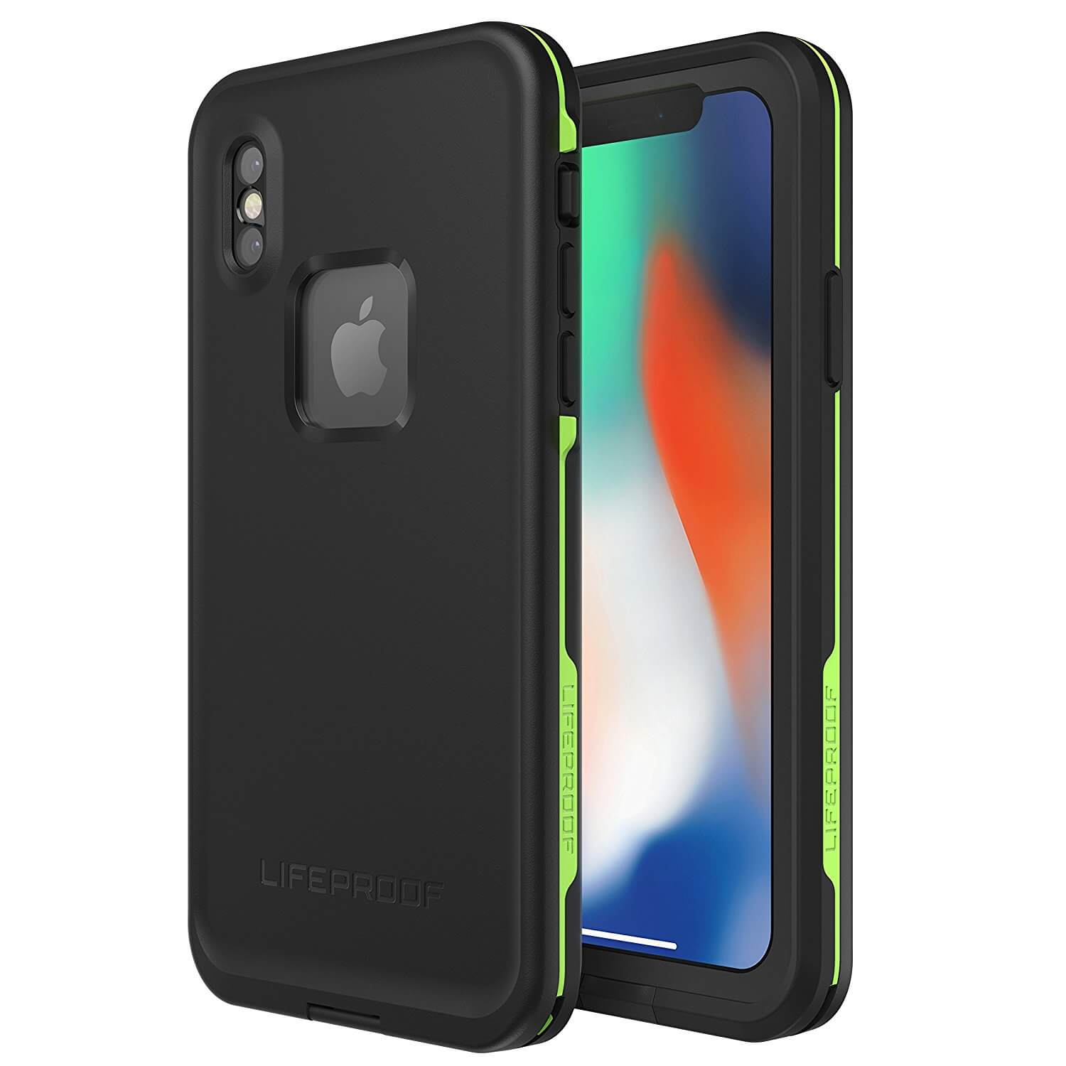 LifeProof Fre case for iPhone XS, iPhone X (black)