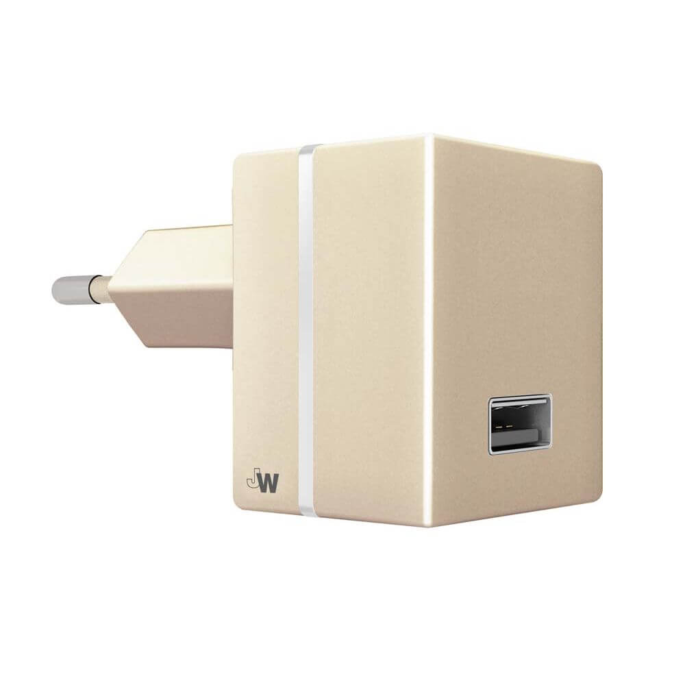 Just Wireless Mains Charger 2.4A EU (gold)