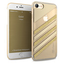 iPaint Glamour Gold Case - дизайнерски TPU кейс за iPhone 8, iPhone 7 (златист)