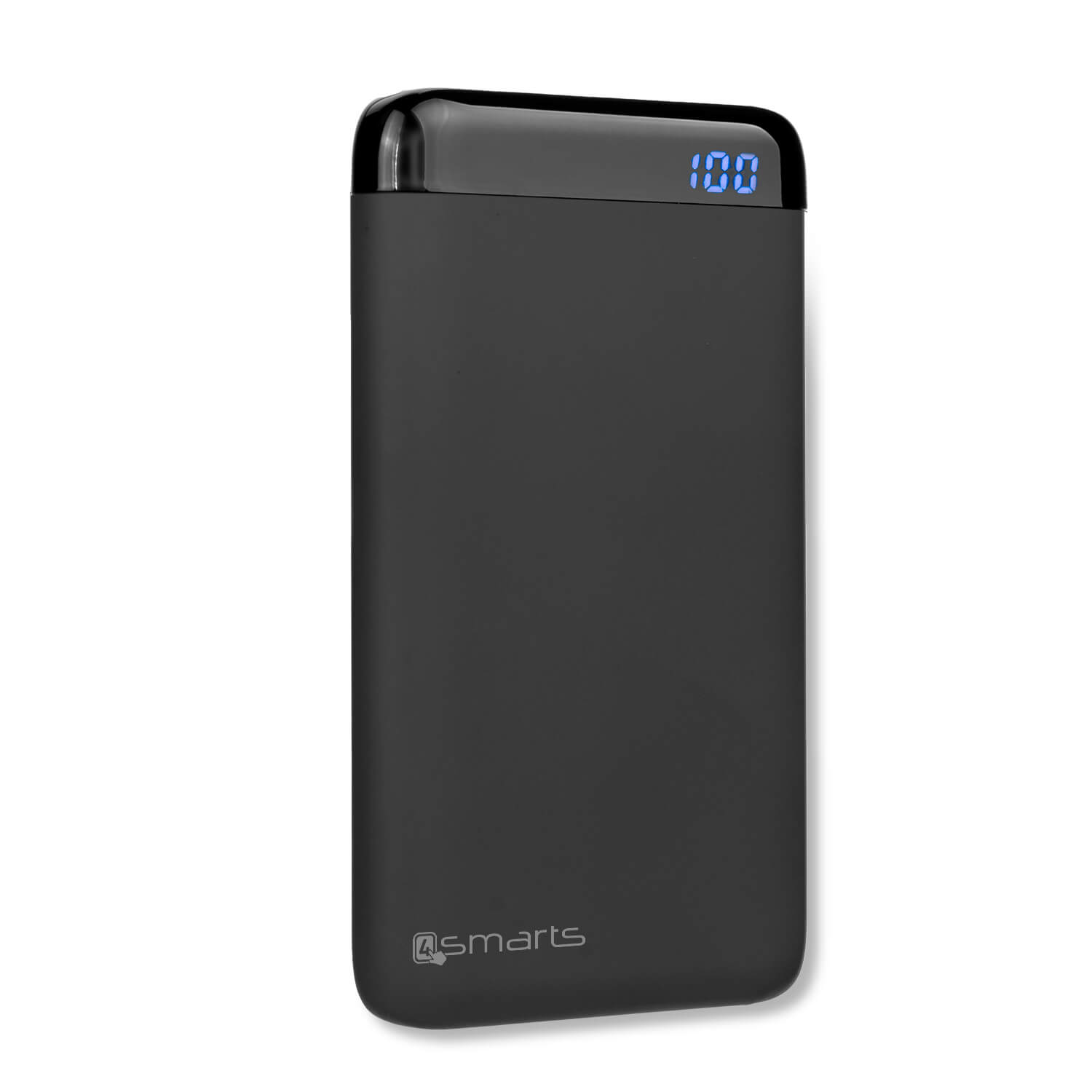 4smarts Power Bank VoltHub 6000 mAh - външна батерия с два USB и USB-C изходи (черен)